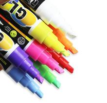 Express popular wholesale reversible tip porcelain marker pen