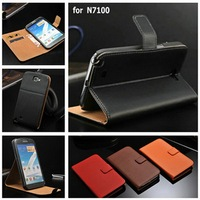 New Trendy Cheap Funky Mobile Phone Case for Samsung Galaxy Note 2 with Soft to Touch Texture and Stand Function and Card Slots