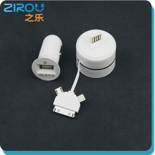 Single usb port Micro Dual usb car charger / Portable Mobile phone Charger adapter / phone usb car charger