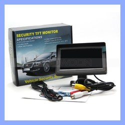 4.3 Inch High Quality TFT Car LCD Monitor Car Rearview Monitor for Security Backup Parking
