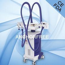 Ultrasonic Cavitation+Vacuum Liposuction+Laser+Bipolar RF+Roller Massage Ultrasound Fat Burning Machine (Vaca Shape)