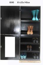 promotion gift shoe rack,Handmade Black Wooden Bench Shoe Accessory Hallway Porch Shoe Rack ,home decoration furniture for sale