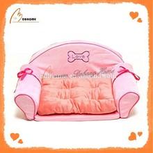 Sexy pink soft cheap luxury pet sofa