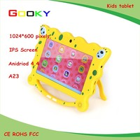 very cute 7 inch android kids tablet made in shenzhen China for kids learning