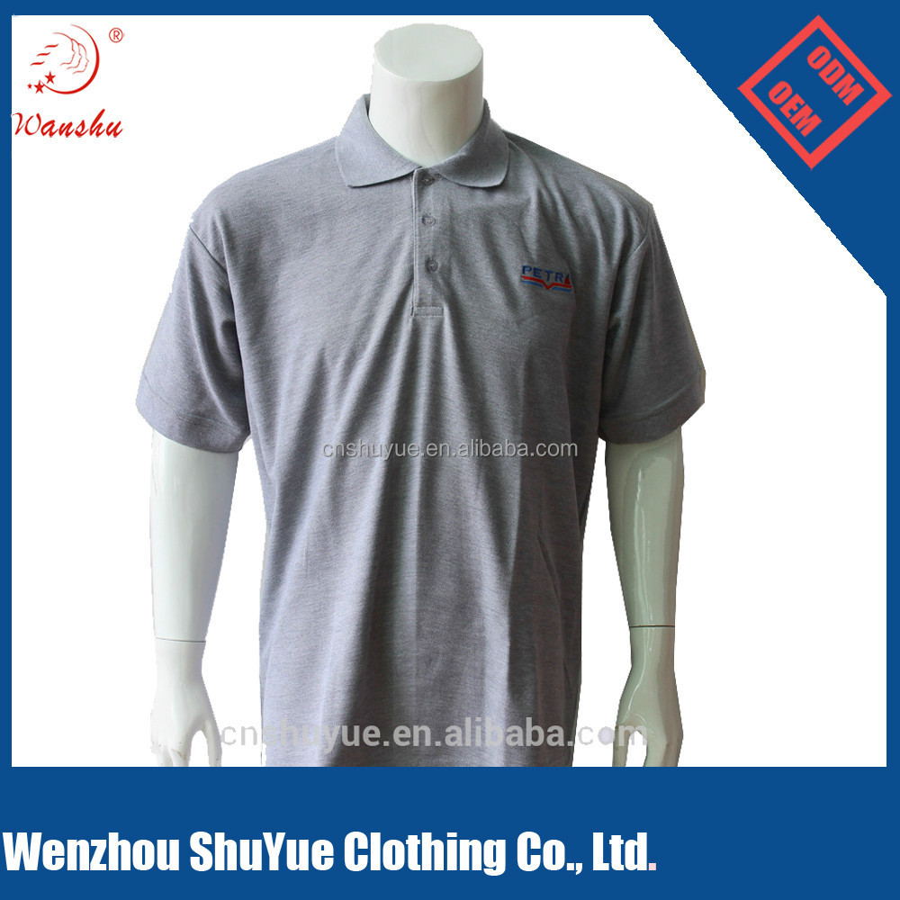 Embroidered polo shirts design online for Custom embroidered work shirts no minimum