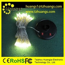 High Luminance Multi Colored Outdoor Decorative String Lights Solar LED Red Christmas Tree Lights