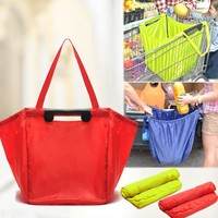 Cart groceries bag shopping grab bag good quality shopping cart bag