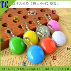 New product flashing led pendant,christmas pet pendant ,round pet tags dog tags for cheap
