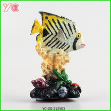 YC-GS-212503 Decoration Desk Resin Clown Fish Different Types Of Arts And Crafts