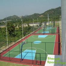 Outdoor International Standard PP Grass Turf For Basketball Court Flooring
