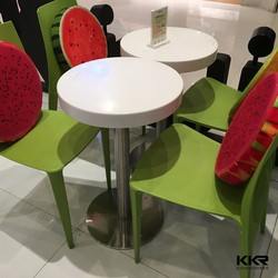 Wholesale solid surface round dining table