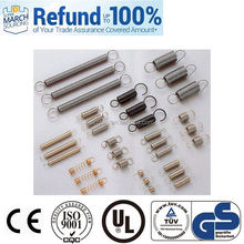 China Manufacturer hardware tool extension spring galvanized spring