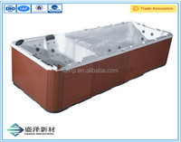 High Quality fiberglass Acrylic Inground Swimming Spa Pools with FRP bottom