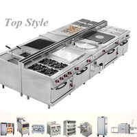 Hot Sale Commercial Stainless Steel Chinese Restaurant Kitchen Equipment