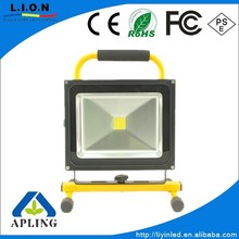 50W rechargeable led work light, led floodlight, led outdoor lights