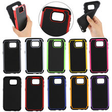2 in 1 robot phone safe case for Samsung S6