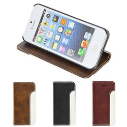 New Arrival Detachable Wallet Leather Case For Iphone 5 5s