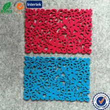 Beautiful And Practical Laser Cut Felt Placemat Wholesale Good Price