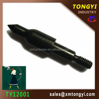 20150818 TY12001 125grain High quality professional hunting arrow black arrow shaft for hunting /archery arrow tip