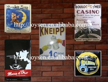 cafe restaurant decorative sign board, enamel advertising sign board, street signpost