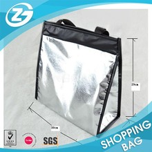 Nylon Handle Metal Laminated Non Woven Thermal Cooler Bag