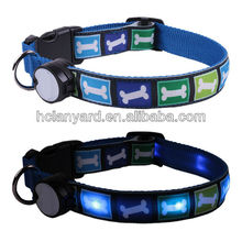 Led dog collars and leash