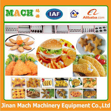 MHF400 fish meat pie making machine for hamburger and chicken nuggets