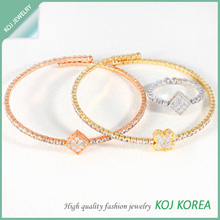 2014 High Quality Fashion Bracelet + Ring set for ladies, Wholesale Accessory Korea Market, costume jewelry