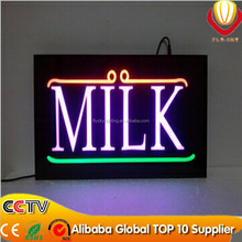 new innovation hot selling products resin led sign board for shops advertising factory direct