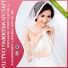 2015 Shiny Fashion Sequins Wedding Veil