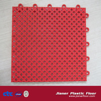 High quality outdoor sport PP interlocking floor