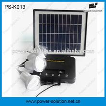 4 W 8 W panel solar home sistema de energía solar con batería li ion