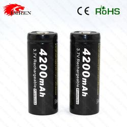 4200mah 18650 Batteries Rechargeables