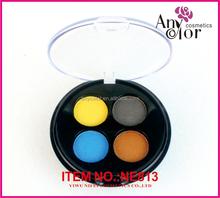 4c high shimmer round eye shadow case