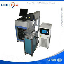 50w water cooling plastic bottles and glass tube co2 laser marking machine