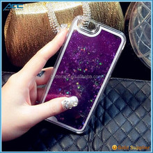 Low Price fashionable 3D Liquid Glitter Star Case For Iphone 6S