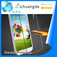 high clear tempered glass screen protector for samsung s4