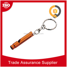 EDW613 Time Delivery wholesale cheap keychain dog repellent whistle to stop barking dog