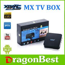 Amlogic 8726 Smart Google Android 4.22 Jailbreak dual core mx android smart tv box 1080p Porn Video Android TV Box 4.2.2 iptv