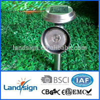 Cixi Manufacturer New Energy Product Low Voltage Post Cap Lamp Series High Quality SS Material Solar Spot Light