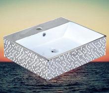 E3009-03 silver wash basin European style OEM service provided