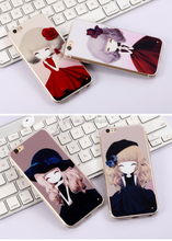 Cartoon TPU Cell Phone Case ,Colorful picture mobile phone cover For Iphone for samsung