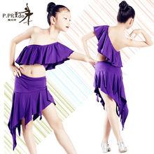 P Prido KD1243 vente chaude filles latine robe enfants robe de danse latine enfants latine costume de danse de salon