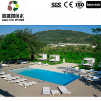 anti-uv wpc outdoor waterproof swimming pool wpc flooring ,high quality and low price wpc decking,wood plastic composite board