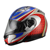 2015 new flip- up double visor motorcycles helmets JX-A113 invincible graphic