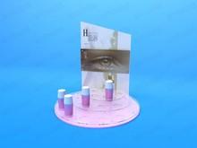 Fashionable Design Advertising Acrylic Hotel Toiletry Kit Display