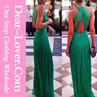 Emerald Green Cross Back Prom Maxi Evening Dress Alibaba China Online Shopping
