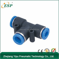 PEG PGT plastic Union Tee Reducer pneumatic air fittings
