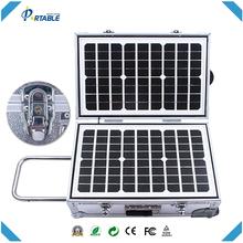 De China solar móvil de la energía 40 W portátil sistema casero de energía solar