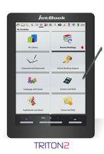 "Ectaco jetBook Color 2 - Triton 2 Color eInk eBook Reader eReader 9.7"" e Ink screen Textbook Tablet Black"